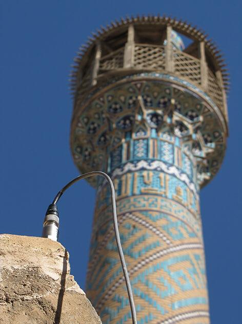 پروژه پایش سلامت مسجد جامع - کوشه سازان مانا